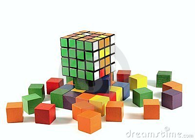 Rubiks cube puzzle Editorial Stock Image