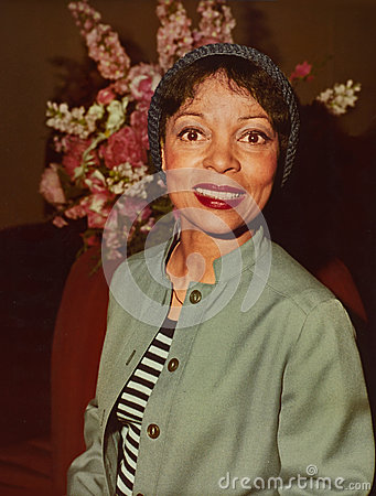 Ruby Dee Editorial Image