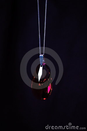 A Ruby on a Pendant