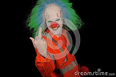 Rude Clown