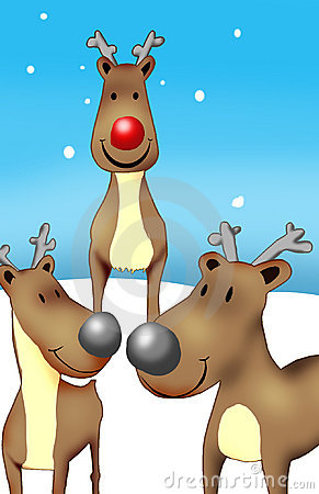 Rudolf and friends