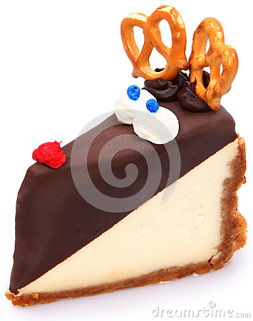Rudolf the Rednosed Cheesecake