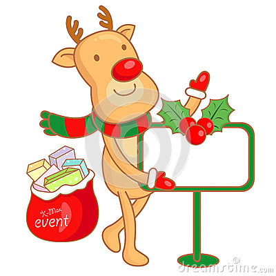 Rudolph mascot the event activity