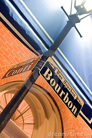 Free Rue Bourbon Royalty Free Stock Image - 13307946