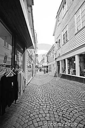 Rue de Stavanger, Norvège