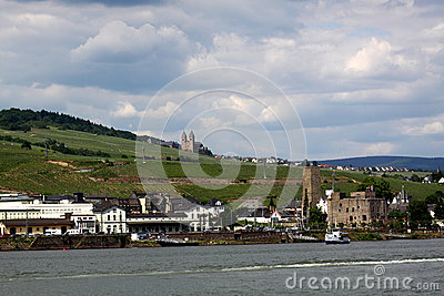 Ruedesheim and Rhine