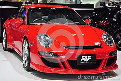 RUF RT12 R high-performance car Editorial Photography