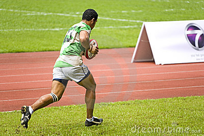 Rugby Editorial Stock Photo