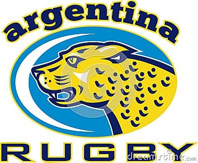 Rugby Argentina Jaguar Leopard