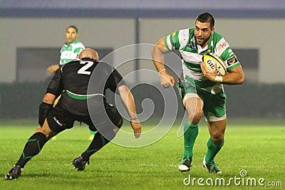 Rugby Celtic League; Benetton vs Connacht Editorial Photography