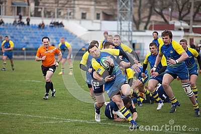 Rugby Editorial Image