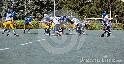 Rugby 7 july Ukraine. Editorial Photo