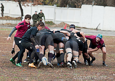 Rugby League Match. Editorial Stock Photo