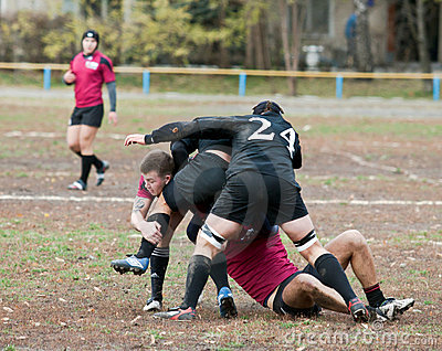 Rugby League Match. Editorial Photo