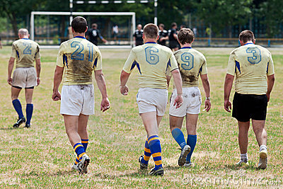 Rugby League Match Royalty Free Stock Photos - Image: 20085118