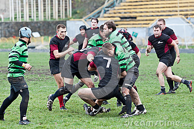 Rugby League match Editorial Stock Photo