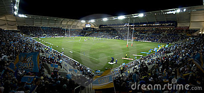 Rugby League Match Editorial Stock Image