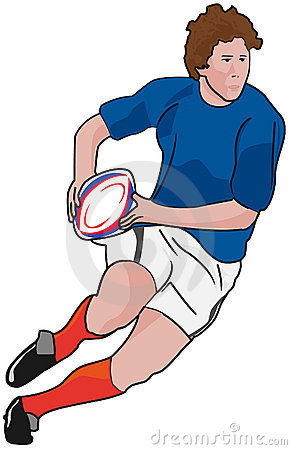 Rugby Player Clipart Rugby-player-running-ball- ...