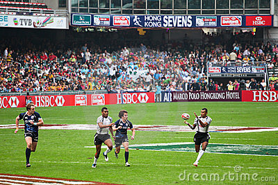 Rugby Sevens 2012 di Hong Kong Fotografia Editoriale
