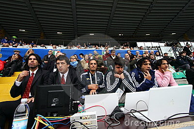 Rugby test match 2010: Italy vs Argentina (16-22) Editorial Photography