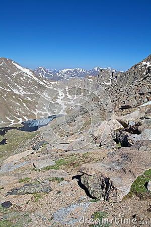 Rugged Alpine Vista