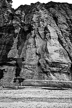 Rugged cliff face