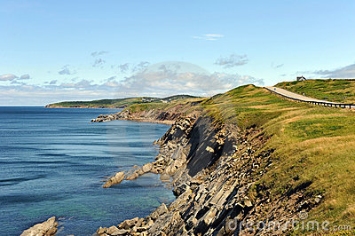 The rugged coast of the Cabot Trail