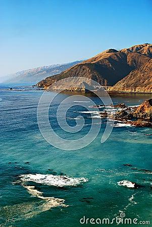 Free Rugged Coastline, California Stock Images - 11290394