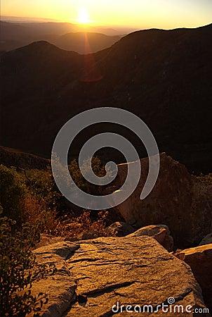 Rugged Desert Sunrise