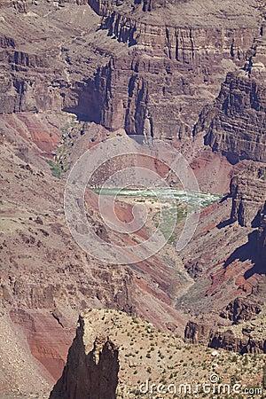 Rugged Grand Canyon