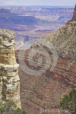 Rugged Grand Canyon Scenic