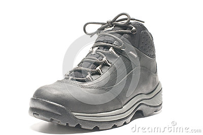 Rugged lightweight hiking shoe boot