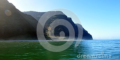Rugged Napali Coastline of Kauai, Hawaii, USA.