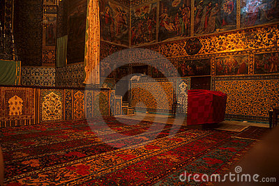 Rugs & frescos, Armenian Church