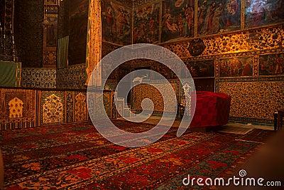 Rugs & frescos, Armenian Church