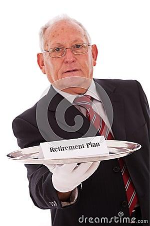 Ruhestand-Plan