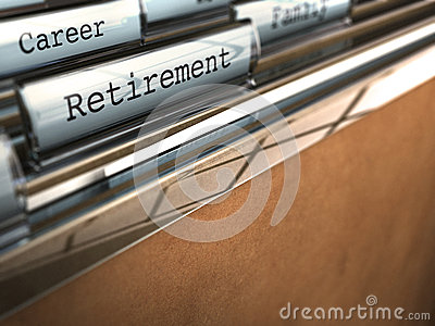 Ruhestandkonzept