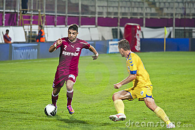 Rui Sandro De Carvahlo Duarte Hitting the Ball Editorial Photo
