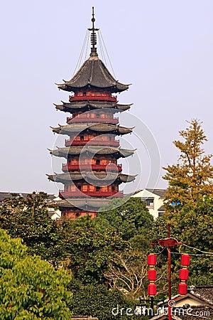 Free Ruigang Pagoda Suzhou China Stock Image - 17781871