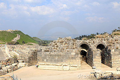 Ruin of Beit Shean