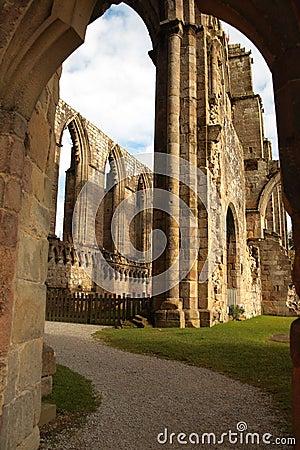 Ruin of Bolton Abbey