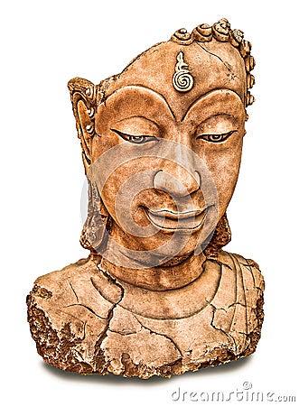 The Ruin of buddha status