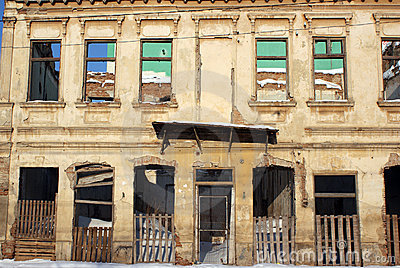 Ruin Building Bombed Royalty Free Stock Image - Image: 12762916