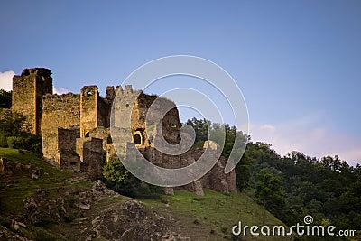 Ruin of castle