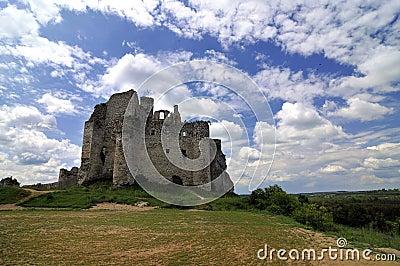 Ruin castle