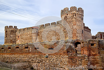 Ruin of castle in Avila