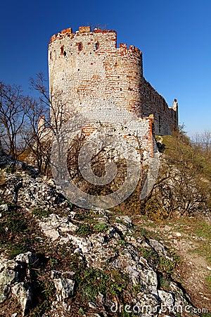 Ruin of castle - devicky palava