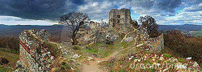 Ruin of castle Gymes