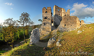 Ruin of Castle Hrusov