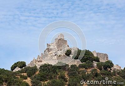 Ruin of a castle